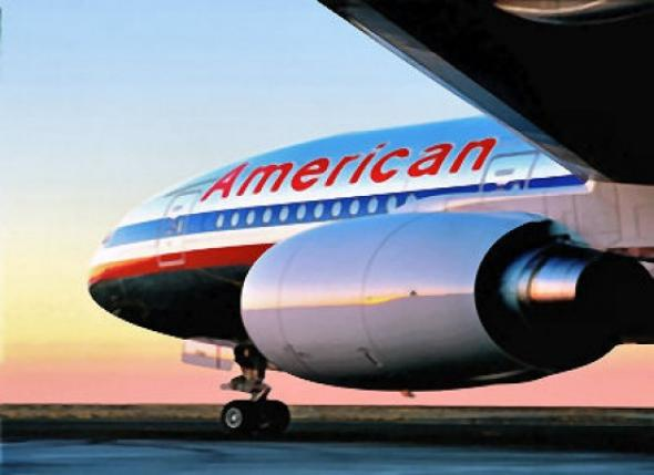 American Airlines in Livepuntamita