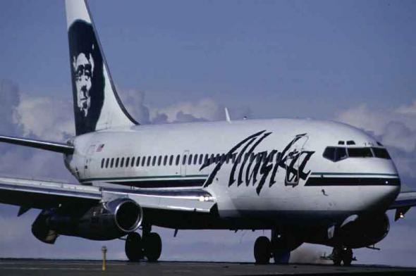 Alaska Airlines in Livepuntamita