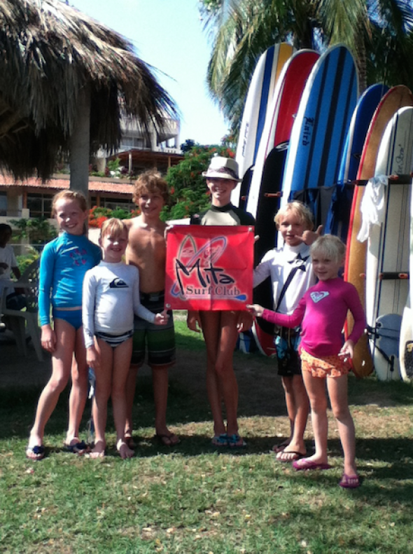 Mita Surf Club in Livepuntamita