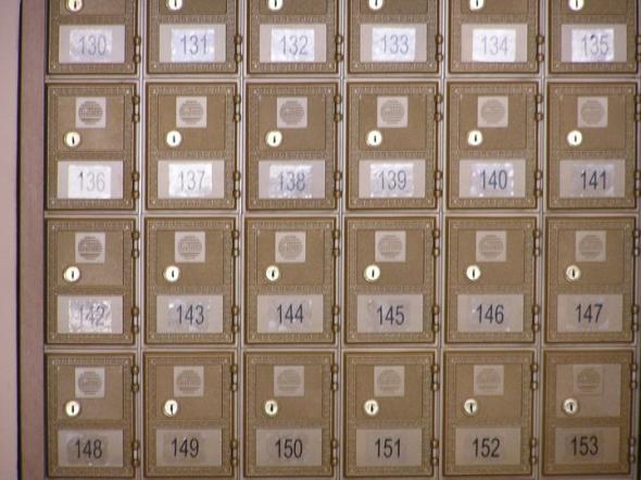 Mailboxes, etc. in Livepuntamita