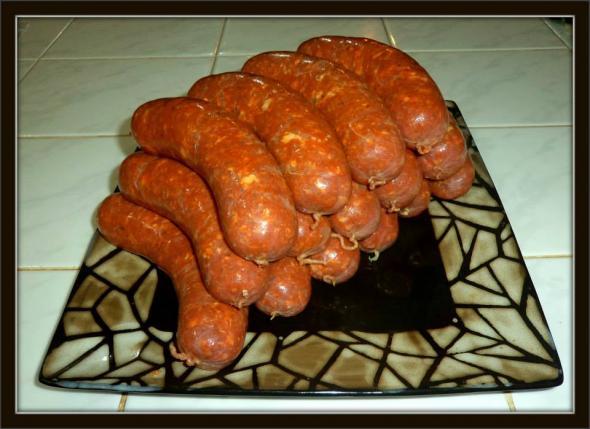 Fresh Homemade Sausages PV in Livepuntamita