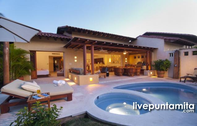 Las Palmas Villa 13, Punta Mita Resort Vacation Rental in Las Palmas Villas Livepuntamita