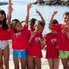 PEACE + Wahine Project host Surf Clinic for local girls