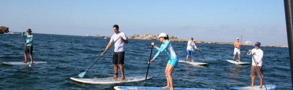 Quicksilver Semana Santa SUP Clinic at the Punta Mita Residents' Beach Club!