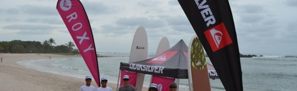 Day 1: Quicksilver SUP Clinic at the Punta Mita RBC!