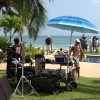 "Party on the set!! ""I Break for Gringos"", films in Punta Mita"