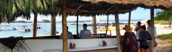 Mita Mary drops anchor at the St. Regis Punta Mita!