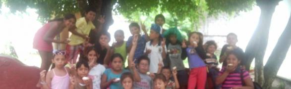 PEACE Punta de Mita organizes a fun Summer Camp for local kids!