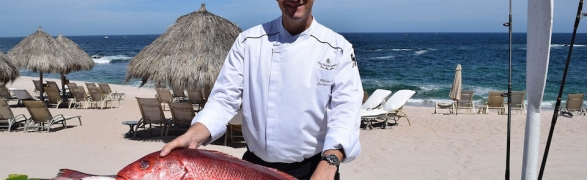 "Travel Weekly features the ""New culinary offerings at Four Seasons Punta Mita"""