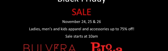 Black Friday Sale is back…at the Boutiques at Punta Mita!