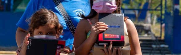 """Peace Punta de Mita & Fundación DINE Punta Mita launch """"Connect Kids Project"""""""