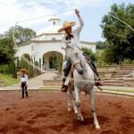 Paso de la Muerte - Mangana a caballo