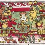 Aztecs drinking Cocoa