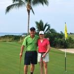 Lorena Ochoa and Carl Emberson in Punta Mita