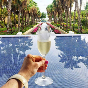 St. Regis Champagne Ritual @ Altamira Lobby Bar at the St. Regis | Punta de Mita | Nayarit | Mexico