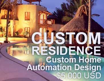 Custom Home Automation Design by SitiSystems ...