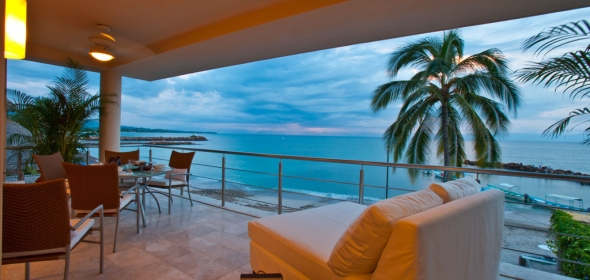 Located In The Heart Of Punta De Mita Fronting Famous Surf Break At El Anclote This Beach Chic Boutique Hotel Features Only Twelve Suites