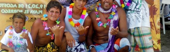 Punta de Mita's young surf stars!