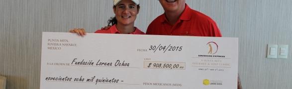 The American Express Punta Mita Gourmet & Golf 2019 launches Auction to benefit Lorena Ochoa Foundation and PEACE Punta de Mita!
