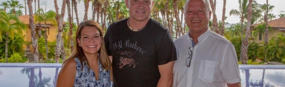 Former world No. 1 tennis player Andre Agassi visited The St. Regis Punta Mita Resort!