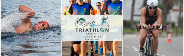 Triathlon Sprint Punta Mita! – Sunday, March 22nd — Event Postponed until further notice