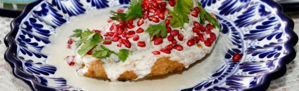 Celebrating the wonders of Mexico! – Chiles en Nogada