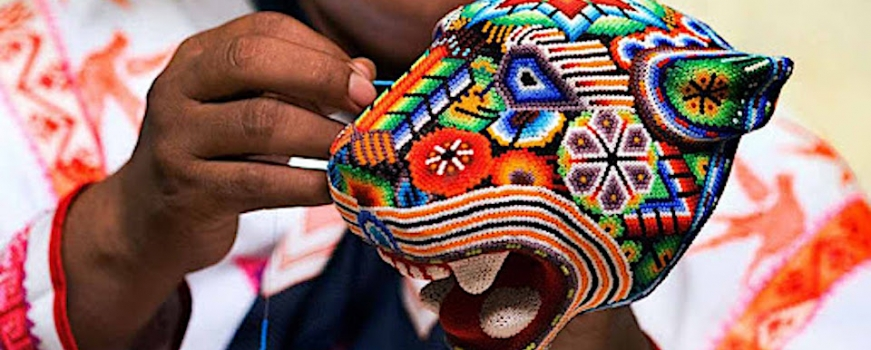 """<a href=""""https://livepuntamita.com/celebrating-the-wonders-of-mexico-huichol-art/""""><b>Celebrating the wonders of Mexico! – Huichol Art</b></a><p>Descendents of the Aztec, theHuicholorWixáritari,are one of the last remaining indigenous ethnic groups located on western-central Mexico, who have lived for centuries in the Sierra Madre Occidental, primarily in the</p>"""