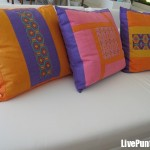Huichol pillows